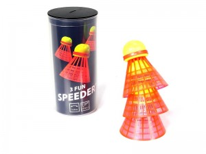 Lotki do Speed badmintona Speedminton Fun 3 szt